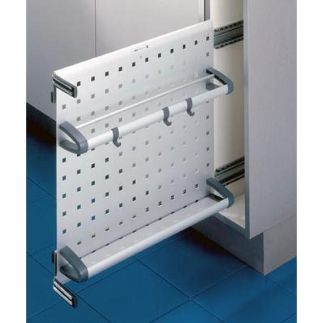 Выдвижная система vario с двумя полками в выдвижной шкаф в б.