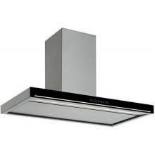 Falmec Design BLADE isola 90 inox vetro nero (800)