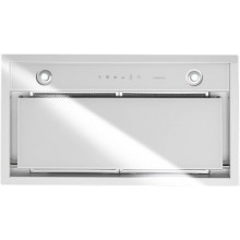 Falmec Design GRUPPO INCASSO MURANO 50 inox vetro bianco (800)